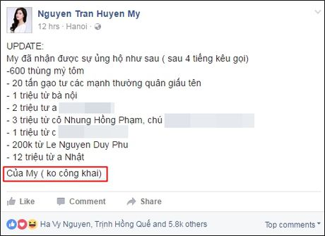 Dam Vinh Hung 'noi doa', MC Phan Anh nhe nhang dap tra khi ung ho mien Trung van bi 'nem da' - Anh 5