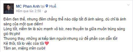 Dam Vinh Hung 'noi doa', MC Phan Anh nhe nhang dap tra khi ung ho mien Trung van bi 'nem da' - Anh 7