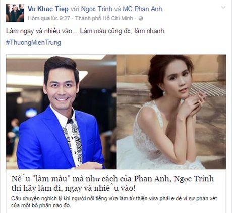 Dam Vinh Hung 'noi doa', MC Phan Anh nhe nhang dap tra khi ung ho mien Trung van bi 'nem da' - Anh 8