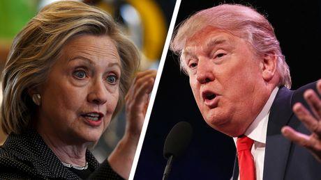 Clinton dang o the thang tren truyen thong My - Anh 1