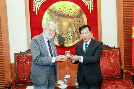 Bo truong Nguyen Ngoc Thien tiep Dac phai vien thuong mai cua Thu tuong Anh - Anh 3