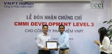 VNPT Software nhan chung chi CMMI - Anh 1