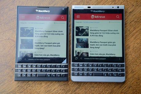 BlackBerry Passport mau bac xach tay co gia 6,6 trieu dong - Anh 3