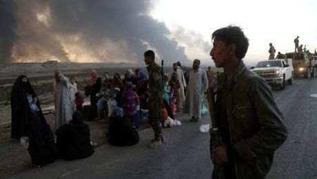 Dan trong thanh Mosul thao chay sang Syria - Anh 1