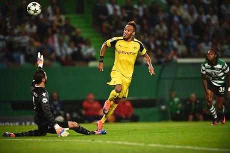 Dortmund tiep tuc dung tren Real nho Aubameyang - Anh 4