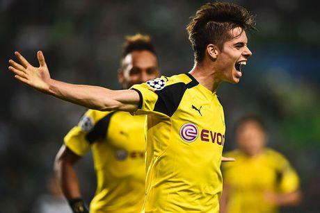 Dortmund tiep tuc dung tren Real nho Aubameyang - Anh 5