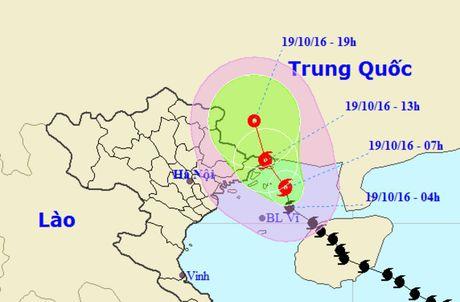 Bao so 7 huong thang vao Quang Ninh - Anh 1