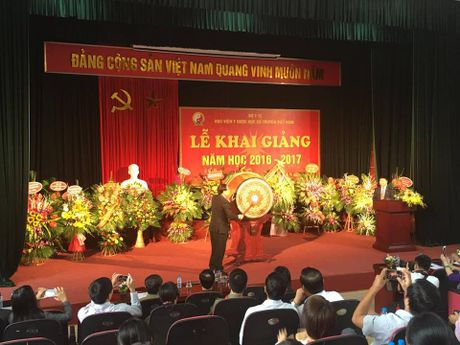 Hoc vien Y Duoc hoc Co truyen Viet Nam: Khai truong – doi moi va kien tao. - Anh 1