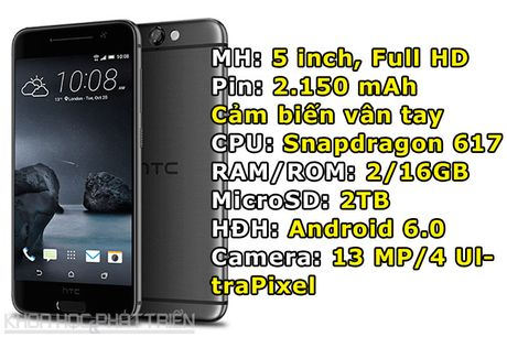 HTC One A9 giam gia soc - Anh 1
