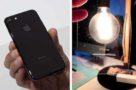 iPhone 7 mau den bong gap van de voi vo bao ve - Anh 1