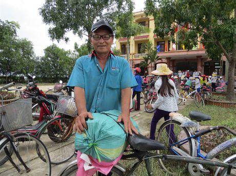 Chung suc cung ba con vung lu Quang Binh - Anh 8