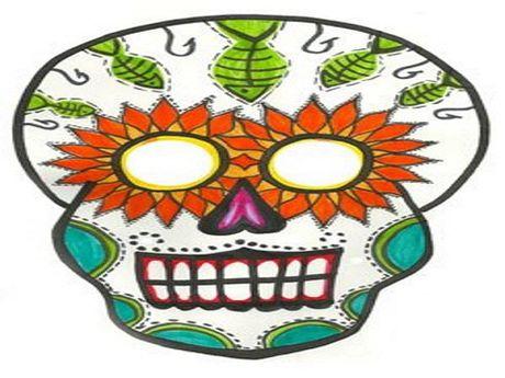 Do choi Halloween: Bien hoa an tuong voi du kieu mat na - Anh 4