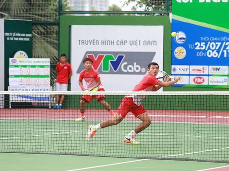 Tennis ngay 19/10: Hoang Nam - Hoang Thien nguoc dong ngoan muc tai F7 Futures - Anh 1