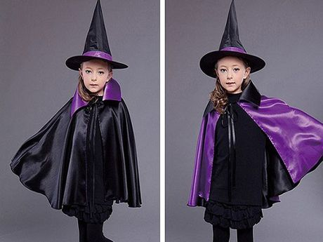 Do choi Halloween: Lam ao choang phu thuy de khong tuong cho be yeu - Anh 1