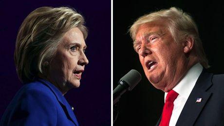 Ba Clinton chiem uu the truoc lan tranh luan cuoi cung trong bau cu My - Anh 1