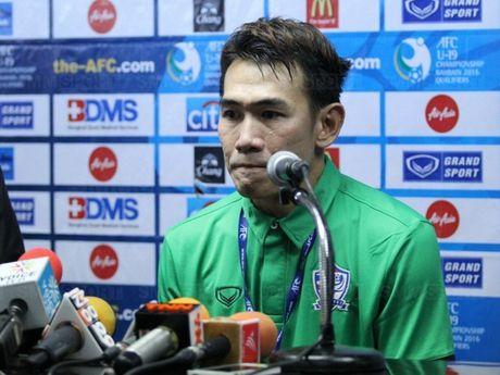 HLV U19 Thai Lan tu chuc sau 3 tran thua lien tiep o giai chau A - Anh 1