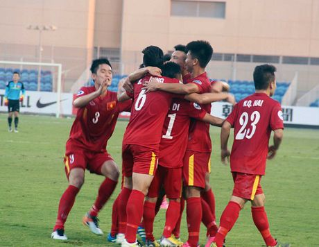 K+ choi 'nuoc co doc' tran U19 Viet Nam vs U19 Iraq - Anh 1