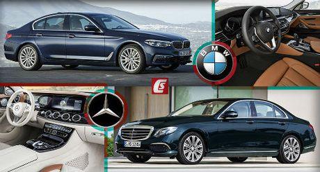 BMW 5-Series va Mercedes Benz E-Class: Ai bao hon ai? - Anh 1