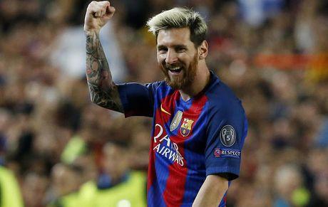Messi lap hat-trick, di vao lich su Champions League - Anh 1