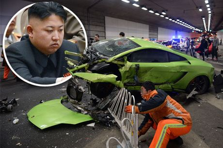 Thuc hu tin don Kim Jong Un bi tai nan o to - Anh 1