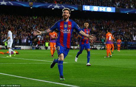 Huy diet Man City, Lionel Messi thiet lap them ky luc tai Champions League - Anh 1
