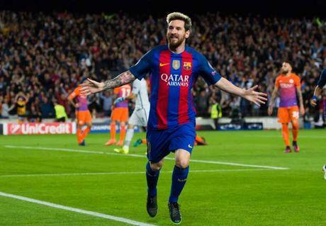 Tan sat Man City, Messi lai lap them ky luc - Anh 1