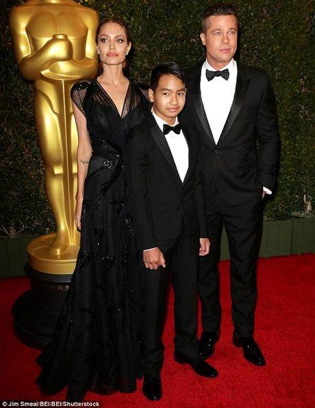 Maddox khong con coi Brad Pitt la cha - Anh 1