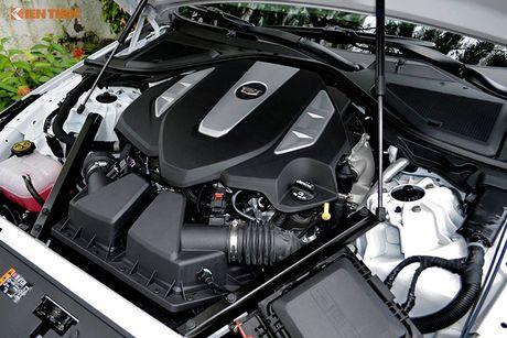 Can canh sedan tien ty Cadillac CT6 moi tai Sai Gon - Anh 17