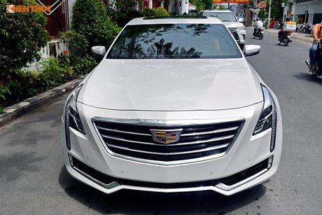 Can canh sedan tien ty Cadillac CT6 moi tai Sai Gon - Anh 18