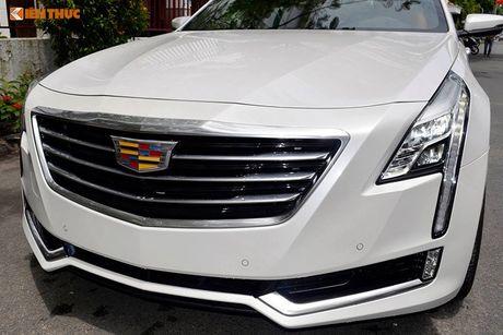 Can canh sedan tien ty Cadillac CT6 moi tai Sai Gon - Anh 3