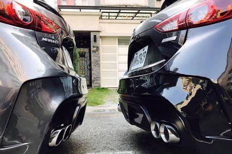 Mazda 3 cuc ngau voi phong cach 'hac cong tu' - Anh 8
