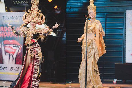 Nguyen Thi Loan lot top 10 trang phuc dan toc Miss Grand International - Anh 6
