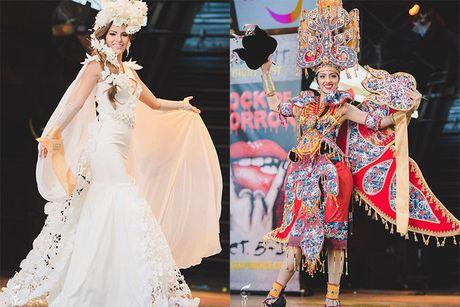 Nguyen Thi Loan lot top 10 trang phuc dan toc Miss Grand International - Anh 7