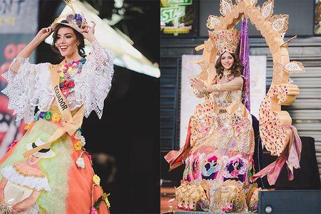 Nguyen Thi Loan lot top 10 trang phuc dan toc Miss Grand International - Anh 9