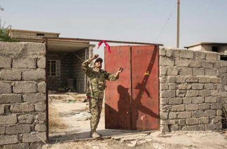 Dot nhap ngoi lang Iraq moi duoc giai phong tu tay IS - Anh 9