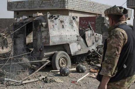 Dot nhap ngoi lang Iraq moi duoc giai phong tu tay IS - Anh 1