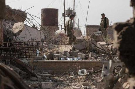 Dot nhap ngoi lang Iraq moi duoc giai phong tu tay IS - Anh 2