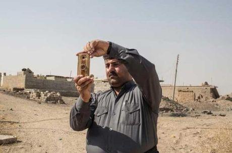 Dot nhap ngoi lang Iraq moi duoc giai phong tu tay IS - Anh 6