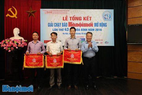 Tong ket Giai chay Bao Hanoimoi mo rong lan thu 43 - Vi hoa binh nam 2016 - Anh 2