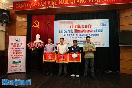 Tong ket Giai chay Bao Hanoimoi mo rong lan thu 43 - Vi hoa binh nam 2016 - Anh 4