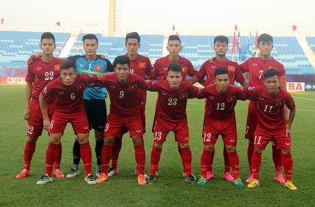 Tuyen U.19 Viet Nam doi mat voi... luong the phat ky luc - Anh 1