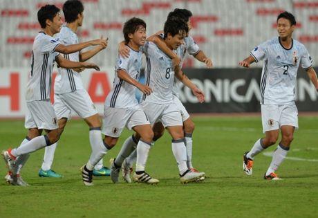 U19 Nhat Ban thang 3-0, duong kim vo dich U19 Qatar bi loai som - Anh 1