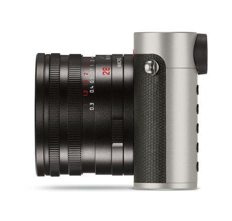 Leica ra mat Leica Q phien ban Titanium Gray: Ngoai hinh dep va sang trong hon, gia £3800 - Anh 4
