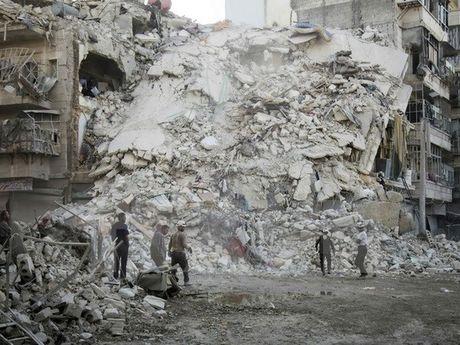 Nga mo rong lenh ngung ban tai Aleppo len 11 tieng - Anh 1