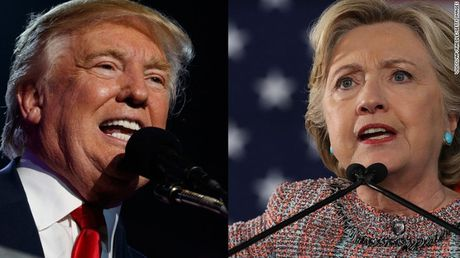 Truc tiep bau cu Tong thong My 2016: Donald Trump: Ba Hillary noi rat nhieu ma khong lam duoc gi! - Anh 1