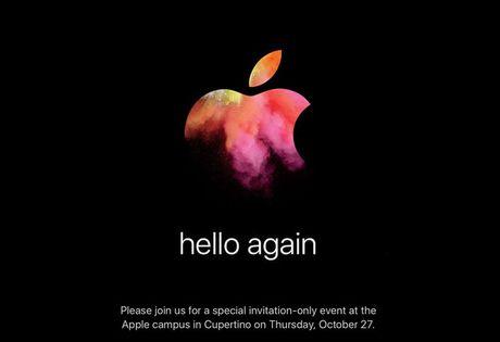 Apple chinh thuc gui thu moi su kien ra mat phien ban MacBook moi - Anh 1