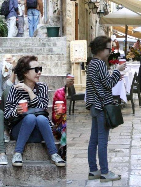 Style 'khong mang tuoi tac' cua nu dien vien U70 xu Han - Anh 1