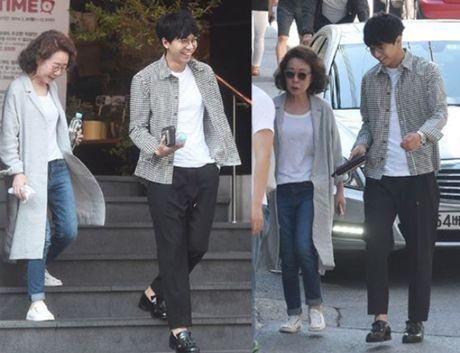 Style 'khong mang tuoi tac' cua nu dien vien U70 xu Han - Anh 3
