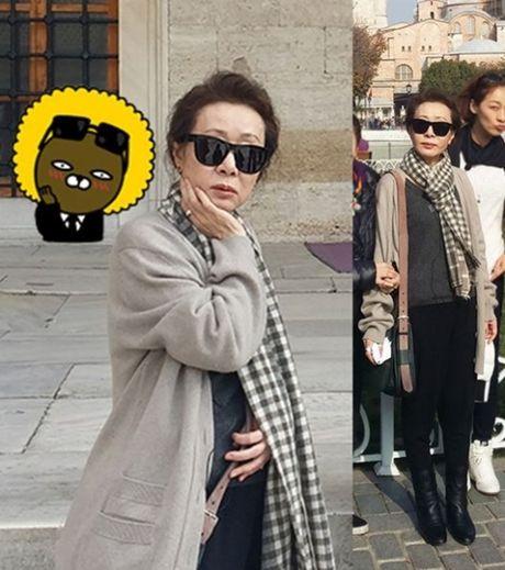 Style 'khong mang tuoi tac' cua nu dien vien U70 xu Han - Anh 5