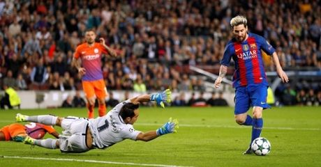 Highlight: Barcelona 4-0 Man City (Bang C Champions League) - Anh 1